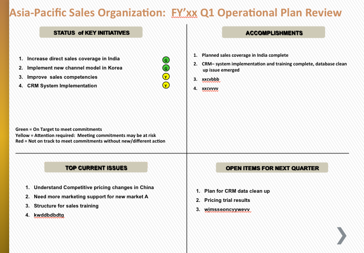 Best Simple Operational Plan Part 2 Affectiveaction